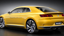 Volkswagen Corrado revival digitally imagined