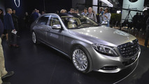 Mercedes-Maybach S-Class at 2014 Los Angeles Auto Show