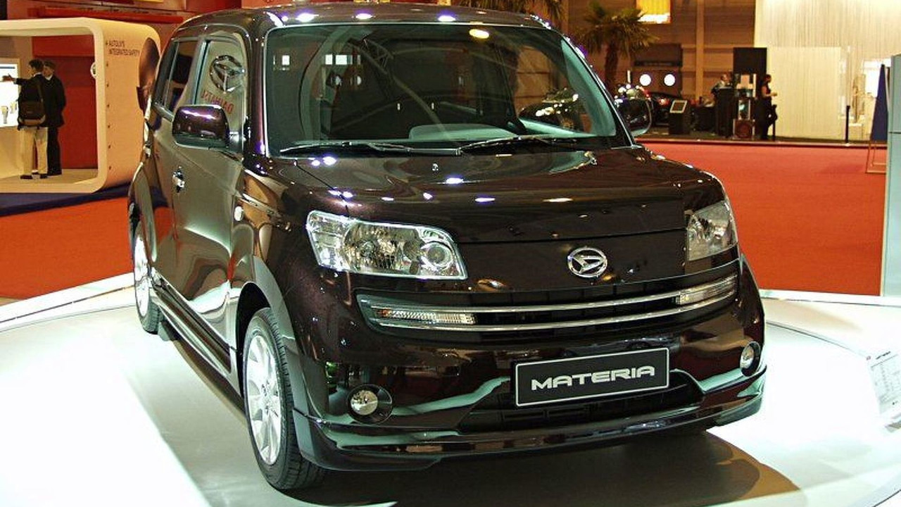 Daihatsu Materia at Paris