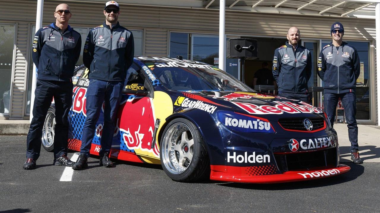Holden Commodore Supercar Red Bull Drift Car Com Photos
