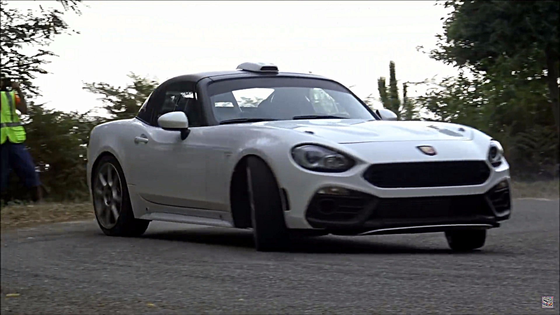 Abarth R Gt In Testing