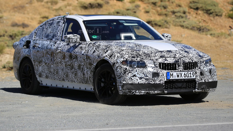 2018 BMW 3-Series is not camera-shy