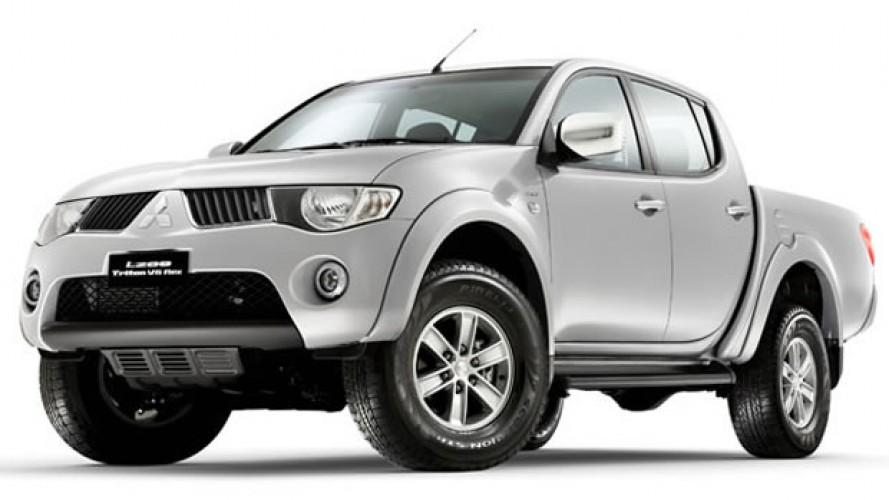 Mitsubishi lança L200 Triton Flex - Picape com o motor 3.5 V6 bicombustível chega por R$ 99.990