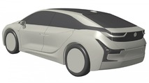 Possible BMW i5 patent images
