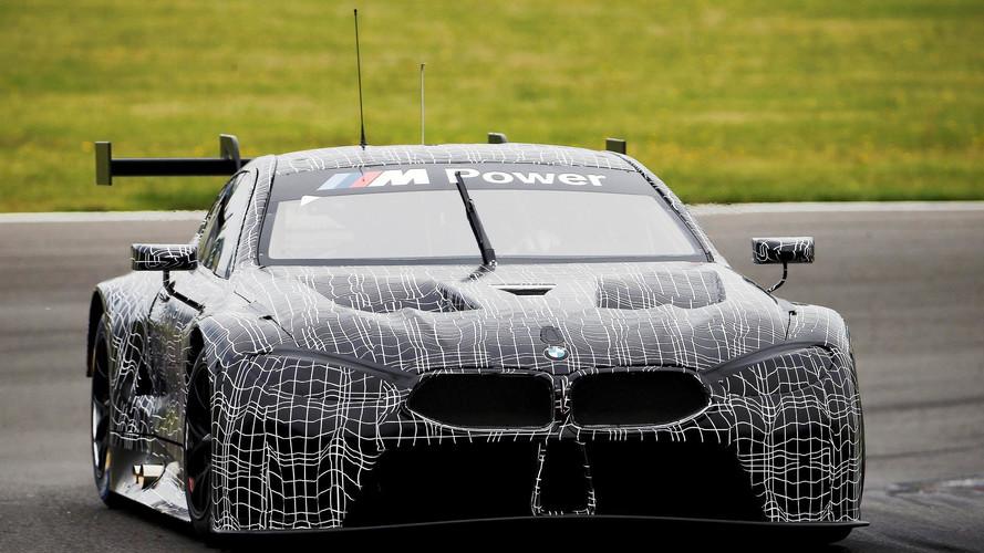 Az első fotó: pályateszten a BMW M8 GTE