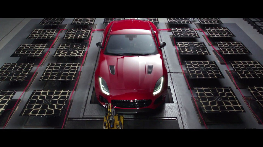 Jaguar Turns F-Type SVR Exhaust Note Into Visual Art, Sort Of