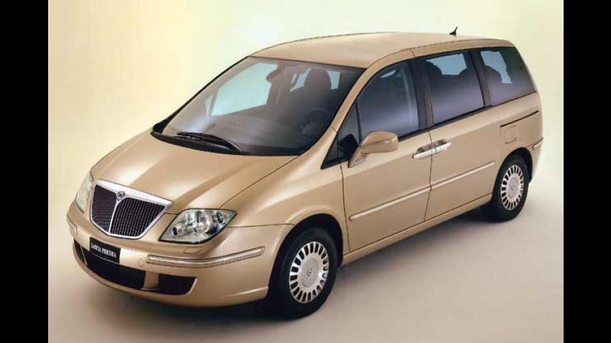 Lancia Phedra: Neuer Diesel für den großen Italiener-Van