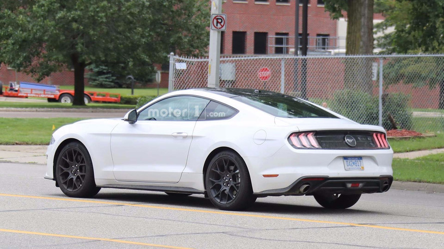 2018 Ford Mustang For Europe Spied In America