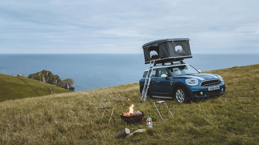 Mini Countryman Contest Means Car Camping at Britain's Best Spots