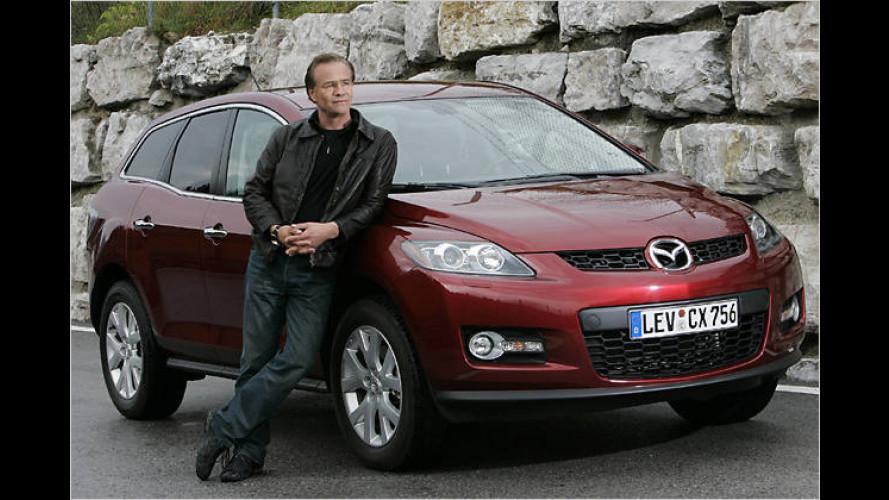 Mazda CX-7 sorgt für erhöhtes Prominentenaufkommen