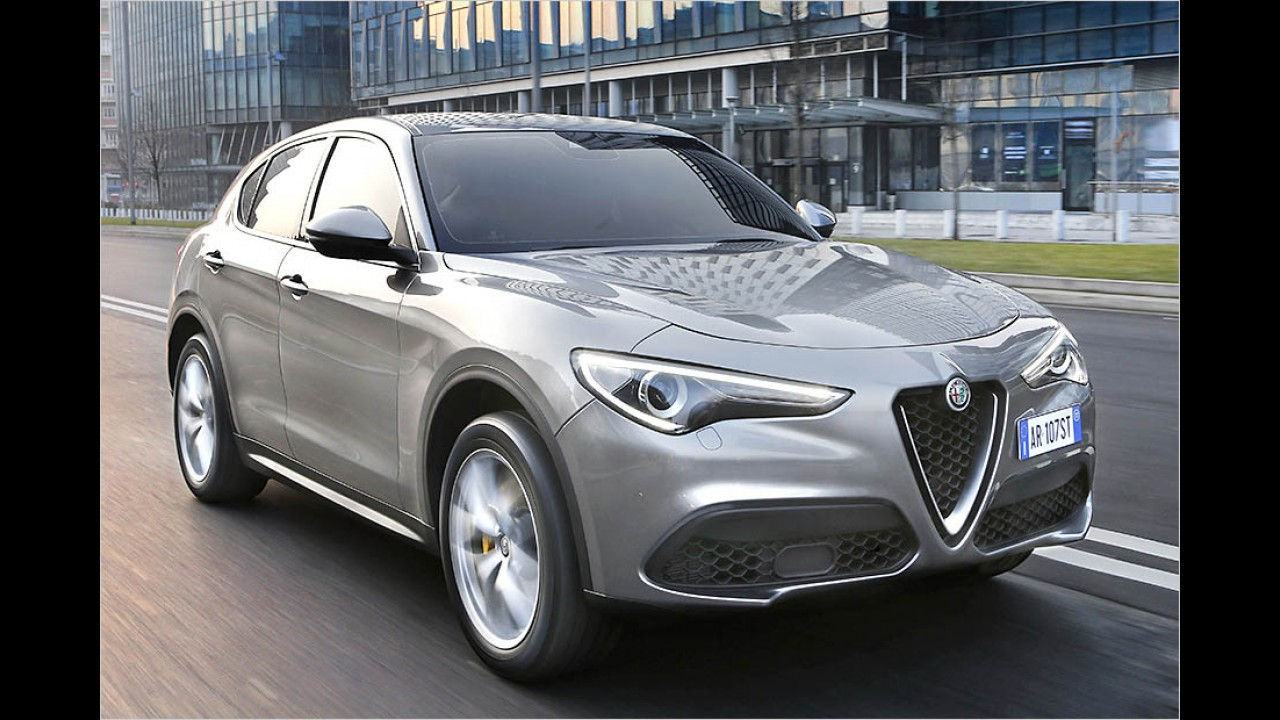 210 PS: Alfa Romeo Stelvio 2.2 Diesel
