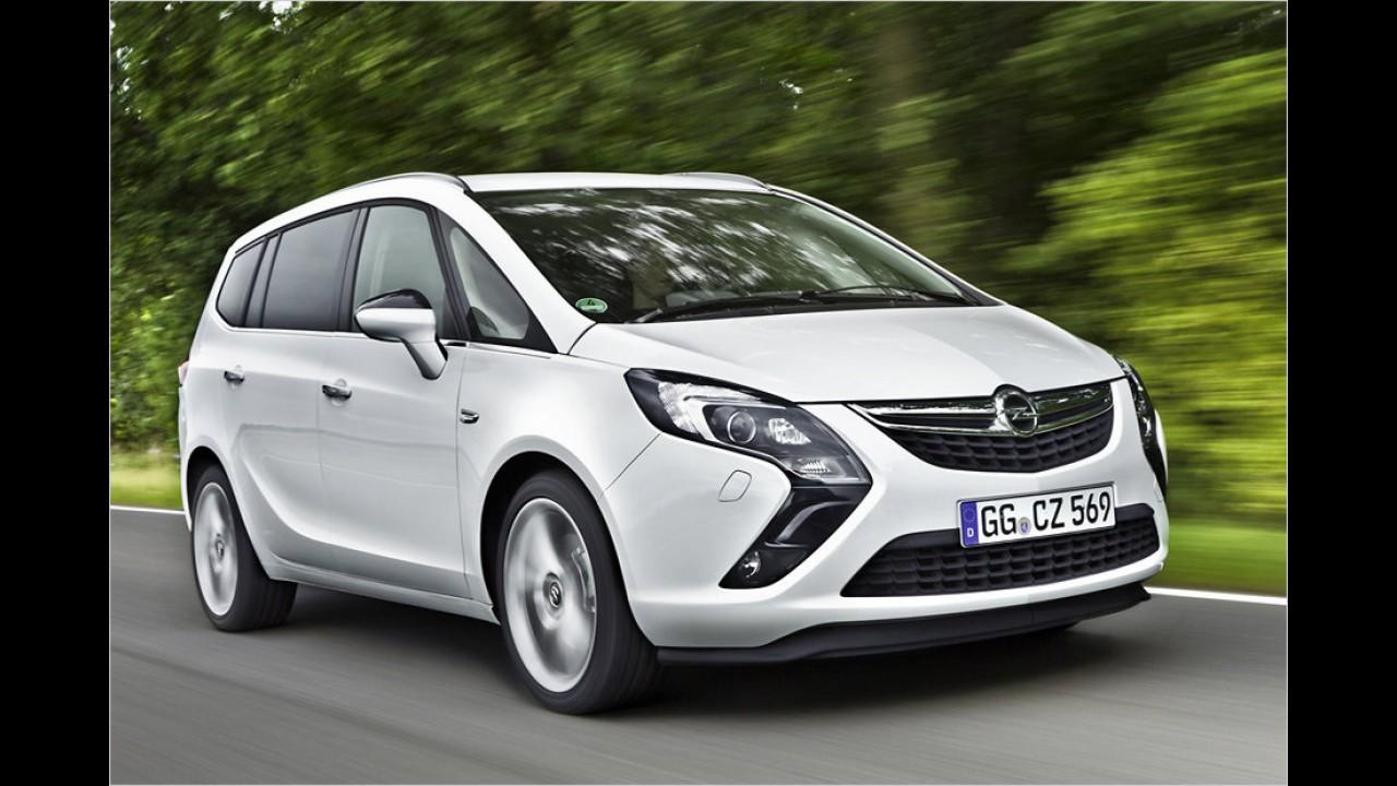 Opel Zafira 1.6 CNG (ab 29.840 Euro)
