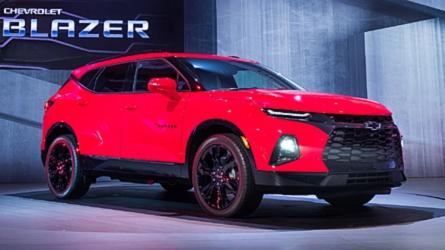 2019 Chevy Blazer Revealed As A Sporty Crossover