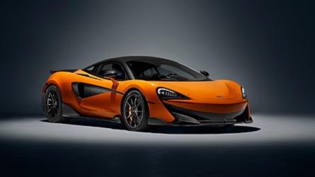El McLaren 600LT que se presenta en Goodwood es pura vitamina C