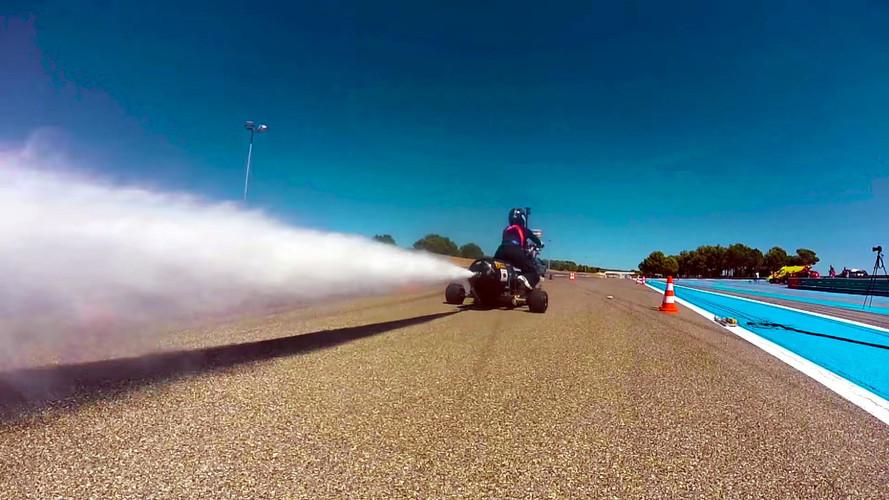 Vídeo: esta máquina acelera, de 0 a 100 km/h, en 0,5 segundos