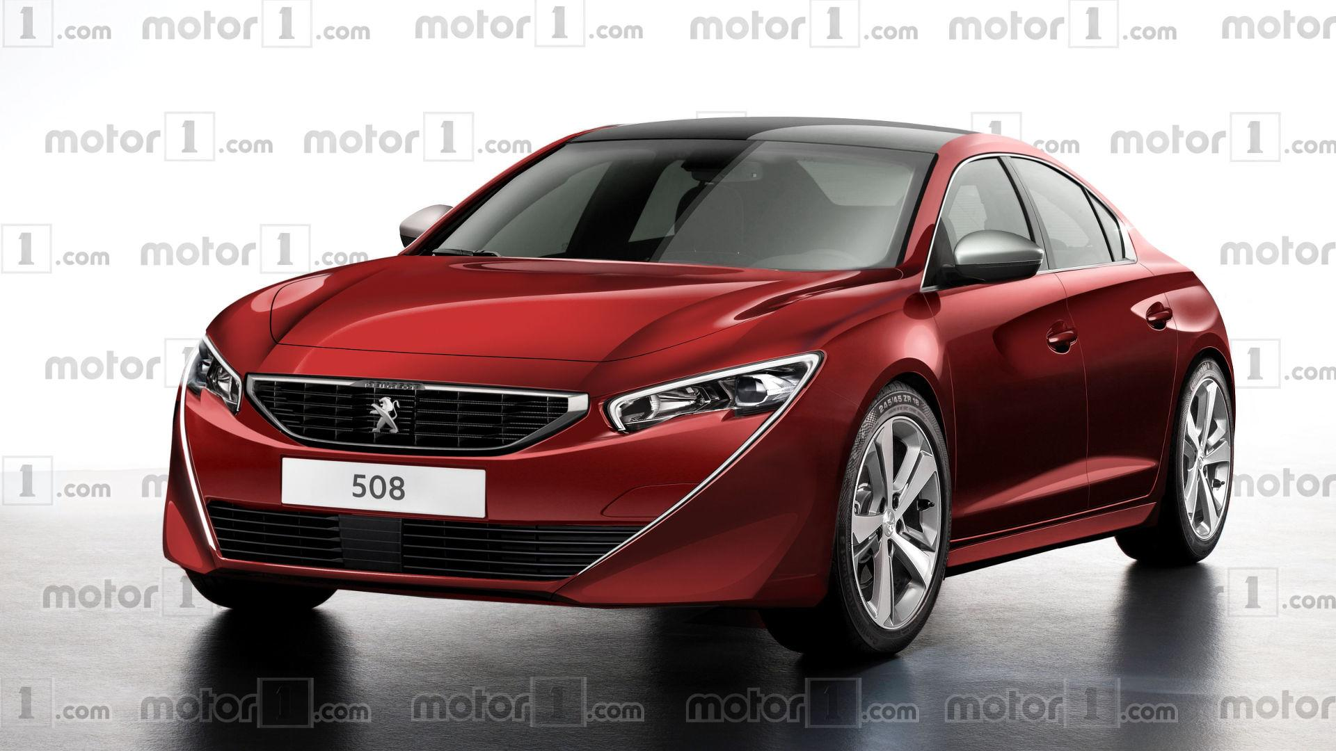 Peugeot Partner 2019 >> 2018 Peugeot 508 Render Is Simply Gorgeous