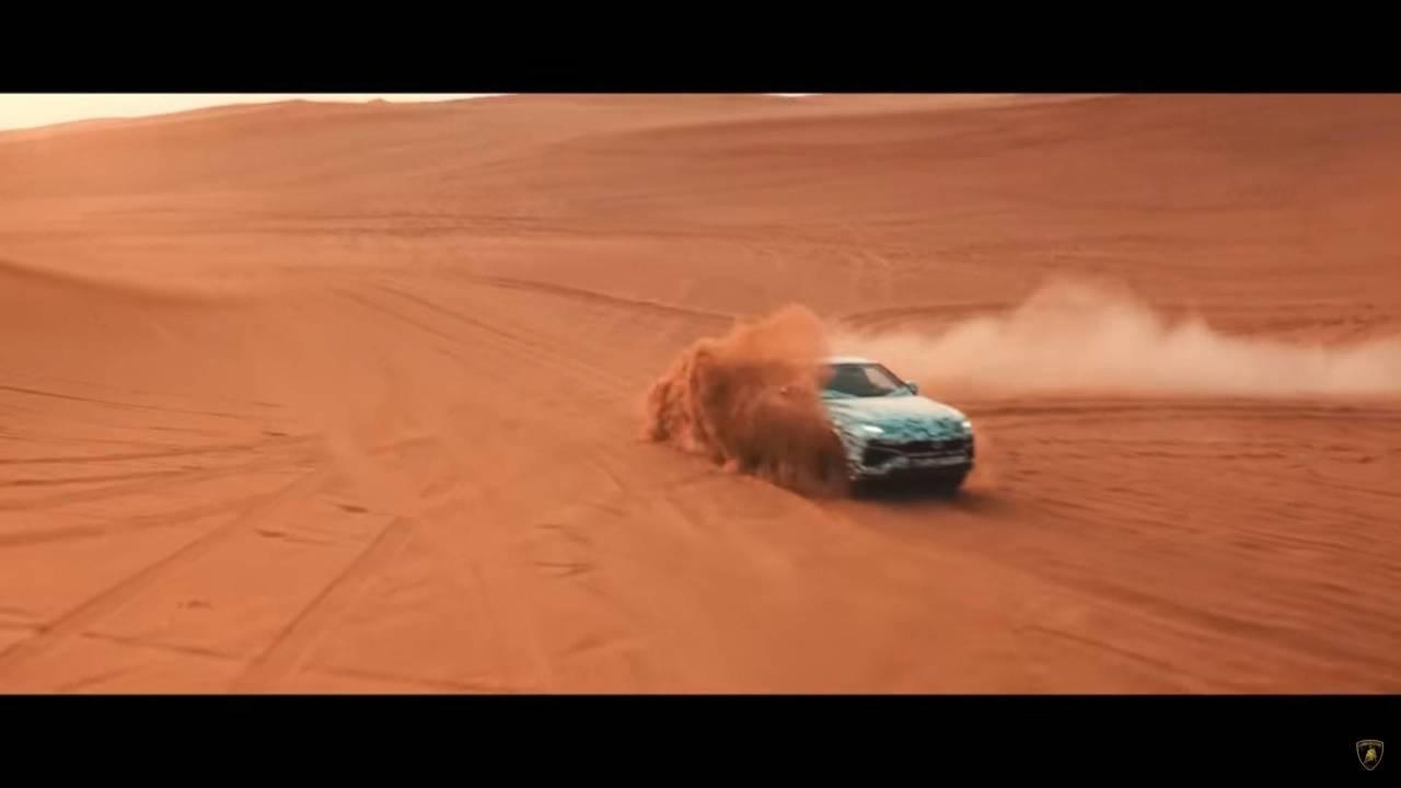 Lamborghini Urus teaser oficial