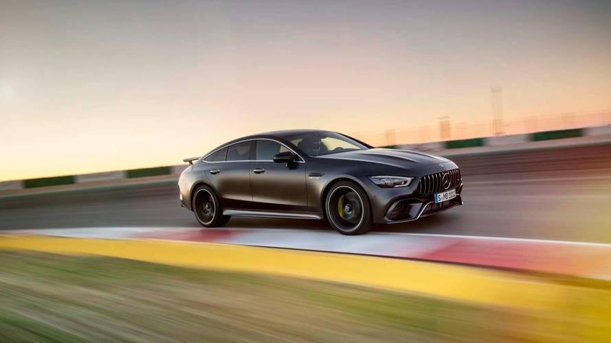 Mercedes-AMG GT 4-Door Coupe Laps Nürburgring In 7:30... Something