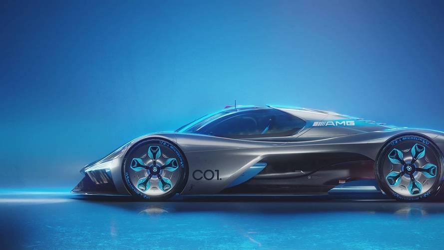 Mercedes-AMG C01 Vision tanulmány