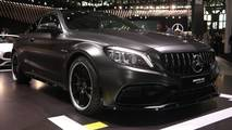 2019 Mercedes-AMG C63 at the 2018 New York Auto Show