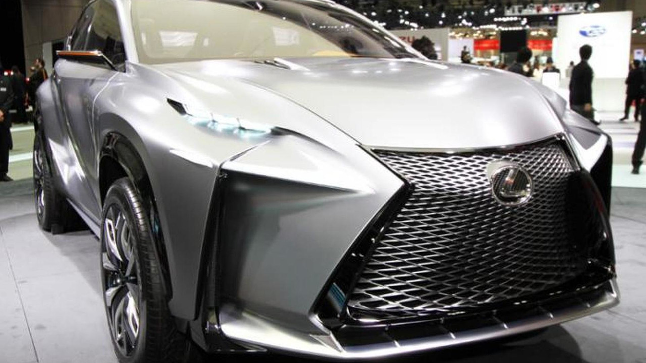 Lexus lf nx turbo at tokyo motor show photo for Tokyo motor show lexus