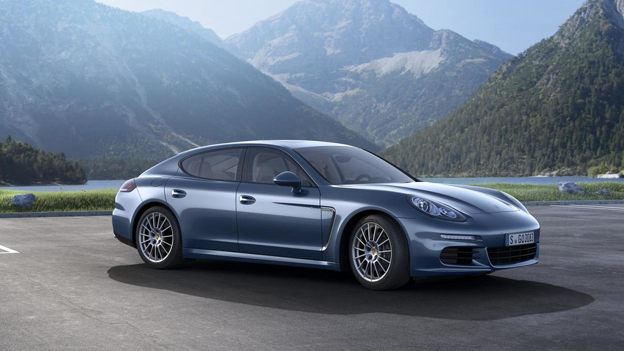 2014 Porsche Panamera Diesel with 300 bhp revealed before IAA debut