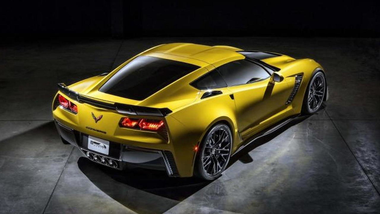 2015 Chevrolet Corvette Z06 leaked official image