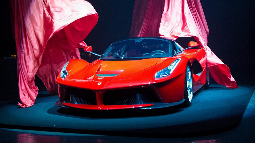 LaFerrari Spider listed for sale, priced at €5.1 million