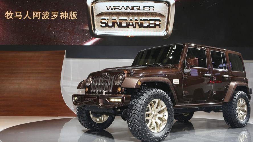 Jeep Wrangler Sundancer and Renegade Zi You Xia concepts arrive in Beijing