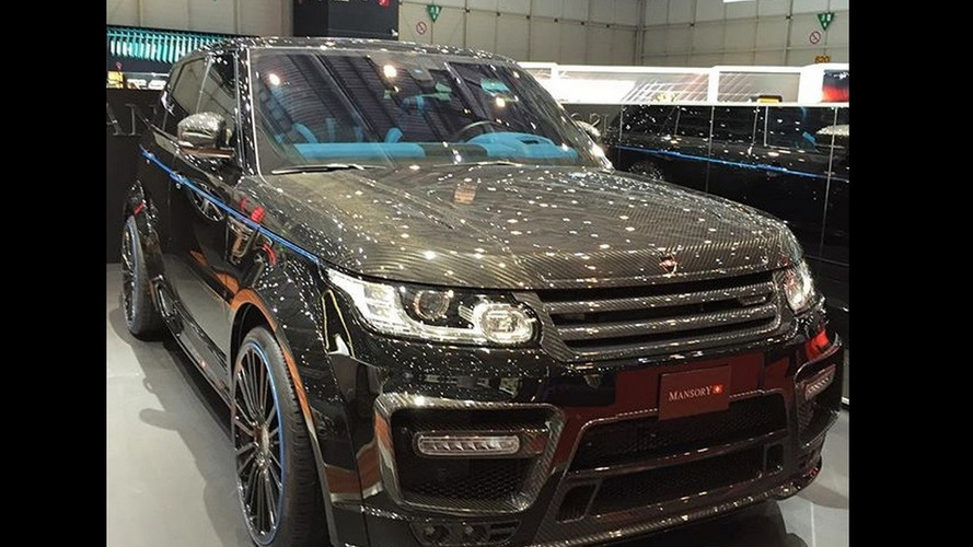 Carbon-clad Mansory Range Rover Sport elevated with 23-inch wheels