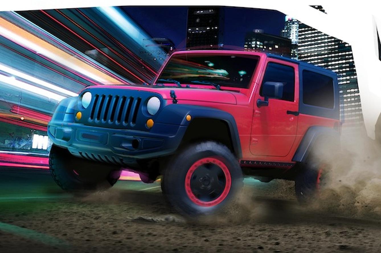 Jeep Teases Safari-Bound Wrangler Slim and Grand Cherokee Trailhawk II