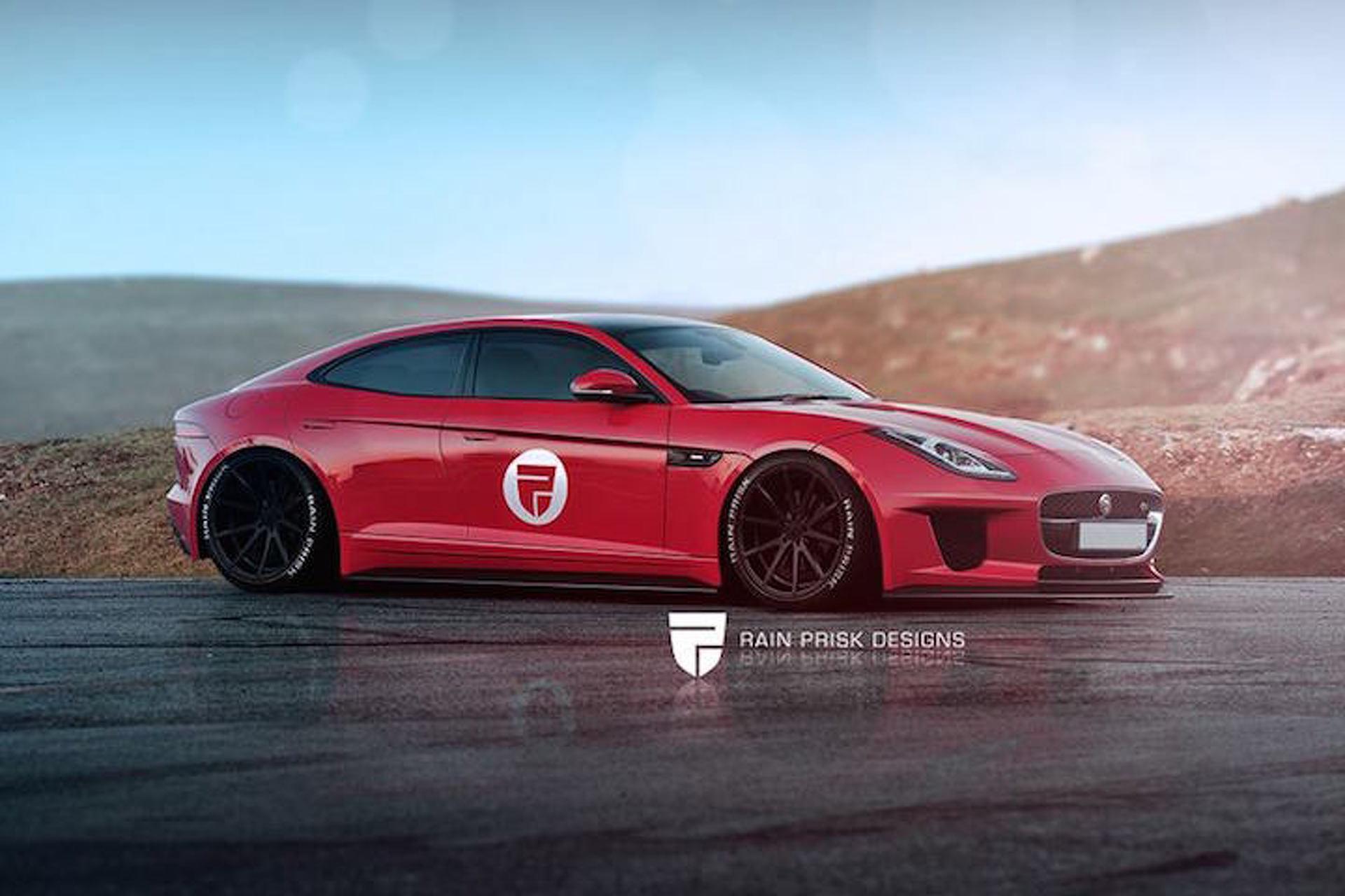 Jaguar F-Type Sedan and Shooting Brake Concepts Look Glorious