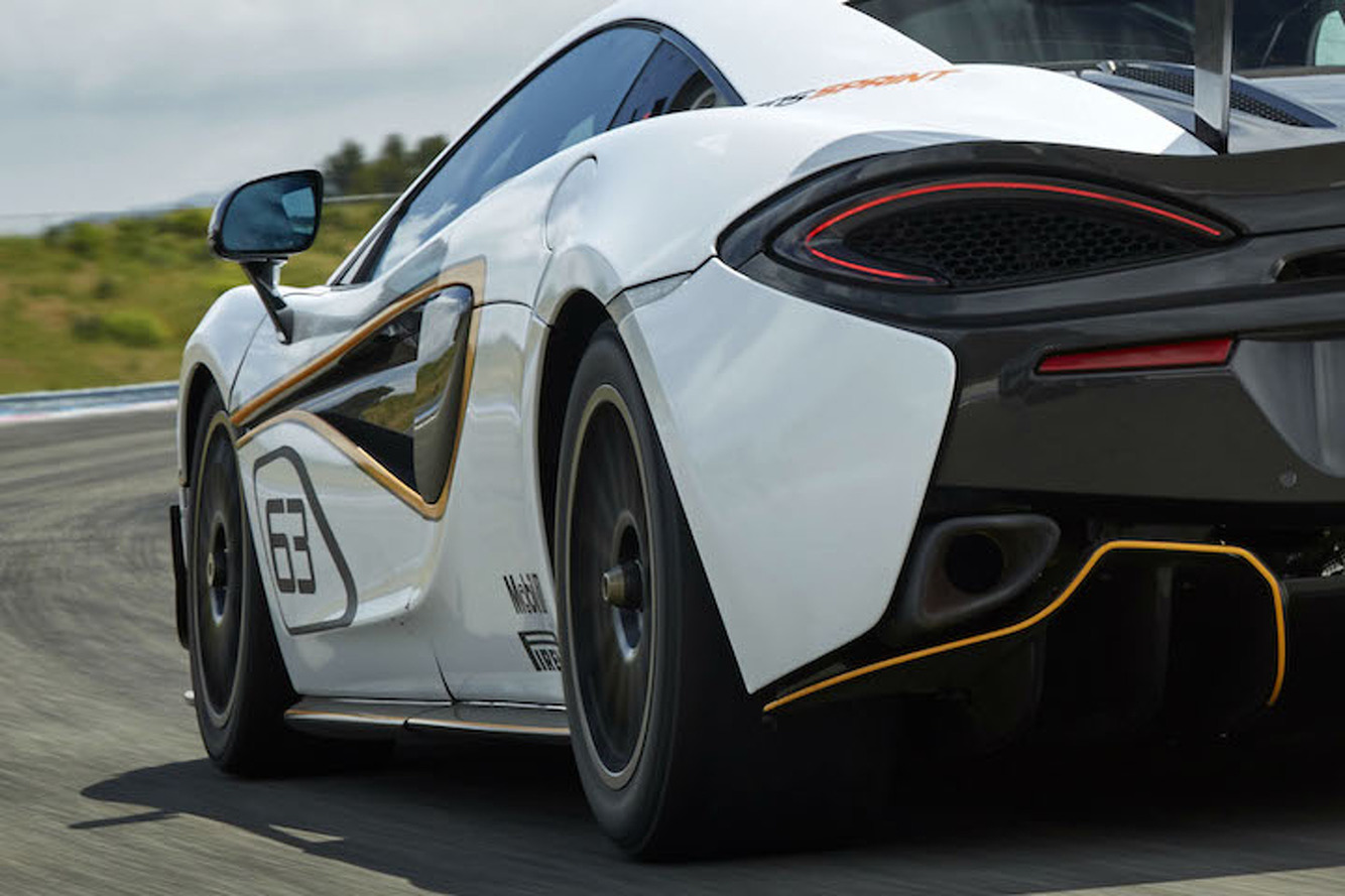 McLaren Readying Track-Only 570S Sprint