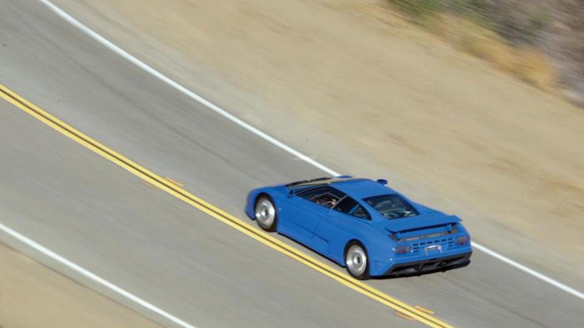 Фото Bugatti EB110 GT 1993 года выпуска
