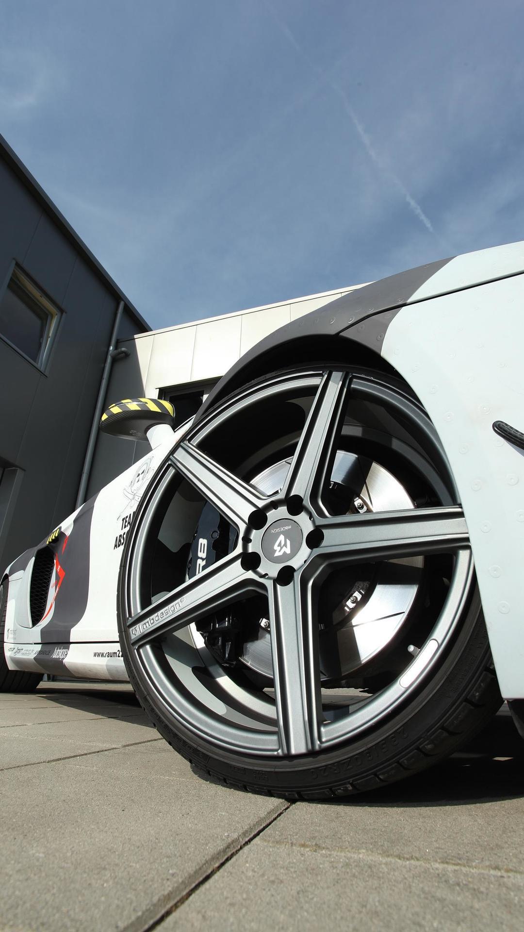 Пятиспицевые колёса Audi R8 V8 от mbDESIGN