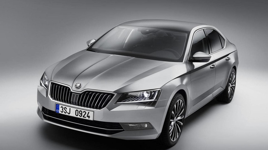 New Skoda Superb starts from 18,650 GBP in UK