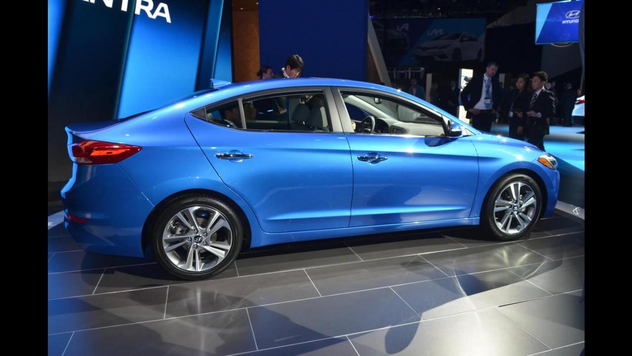 Los Angeles: veja detalhes do novo Hyundai Elantra 2017 norte-americano