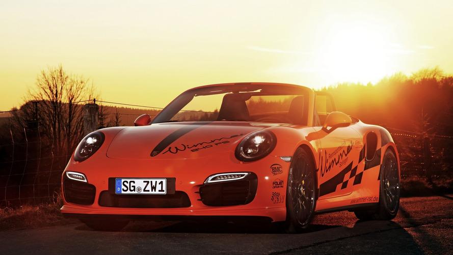 840 bg'lik Porsche 911 Turbo S Cabriolet ile tanışın