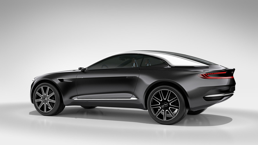 Aston Martin's Upcoming DBX Crossover Could Get V12