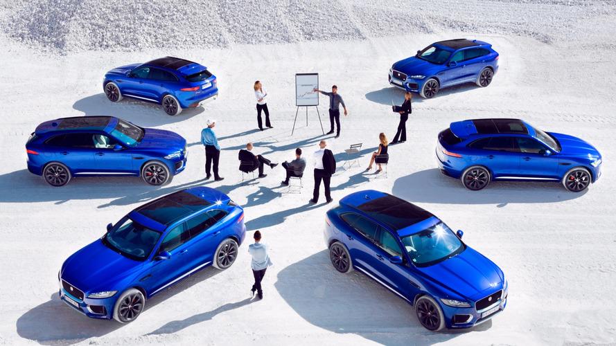Une Jaguar voiture mondiale de l'année 2017