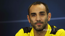 Cyril Abiteboul, Renault Sport F1 Managing Director in the FIA Press Conference