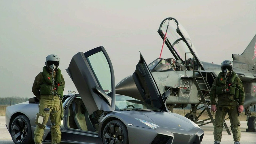 Lamborghini Reventon Takes on a Tornado