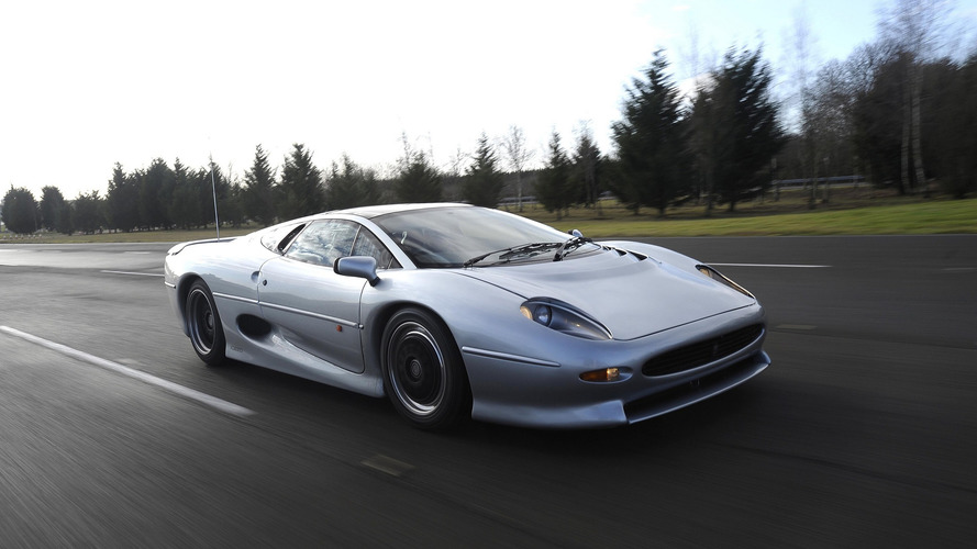 Video: New Lease Of Life For Jaguar XJ220 Thanks To Bridgestone