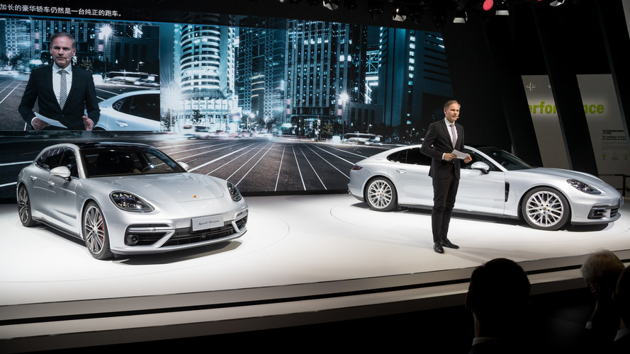 Chinese Drivers Can Stretch Out In RWD Panamera Executive