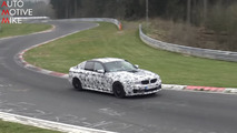 2018 BMW M5 screenshot from spy video