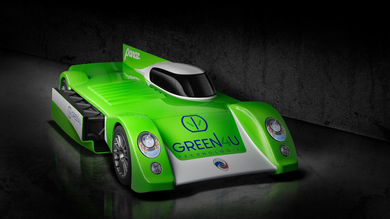 Panoz GT-EV Race Car