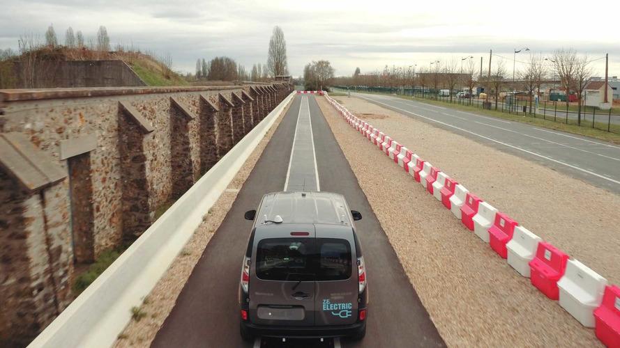 Renault Kangoo Z.E. recharge dynamique sans contact
