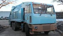Motiv's Garbage Truck Conversion