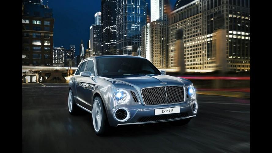 Salão de Genebra: Bentley adianta primeiros detalhes do EXP 9 F, seu super-SUV