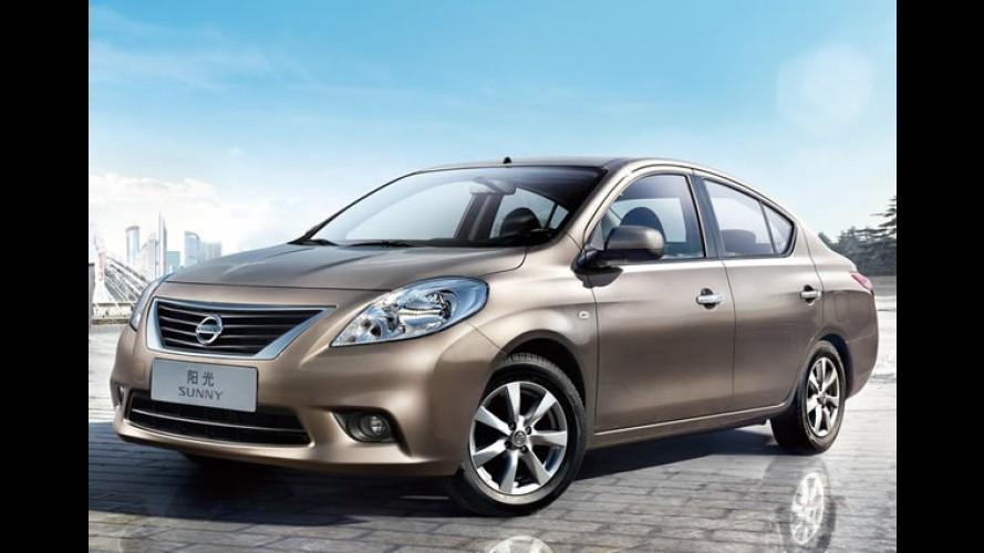 Nissan anuncia investimento de US$ 7,8 bilhões na China até 2015